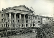 Leningrad State University. ..Russian military school at the Leningrad State University in 1969 which was celebrating 100 years of the birth of Lenin.