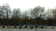 PUTNEY, LONDON, ENGLAND, 05.03.2006,Oxford [foreground race USA International crew, Pre 2006 Boat Race Fixtures,.   © Peter Spurrier/Intersport-images.com.OUBC, Bow Robin Esjmond-Frey, No.2 Colin Smith, No.3 Jake Wetzel, No.4 Paul Daniels, No.5 James Schroeder. No.6 Barney Williams, No. 7 Tom Parker, stroke Bastien Ripoll, and cox Nick Brodie,.USA Crew Mike Blomquist, Chris lewski, Daneil beery, Sam Burns, Joshua Inman, Brett Newlin, Patrick O'dunne, Matthew Schnobrich and cox Marcus McElhenney.[Mandatory Credit Peter Spurrier/ Intersport Images] Varsity Boat Race, Rowing Course: River Thames, Championship course, Putney to Mortlake 4.25 Miles