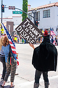 Corona Virus Freedom Rally on Del Mar in San Clemente