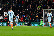 Goal - Joshua King (17) of AFC Bournemouth scores a goal to give a 3-0 lead to the home team during the Premier League match between Bournemouth and Chelsea at the Vitality Stadium, Bournemouth, England on 30 January 2019.