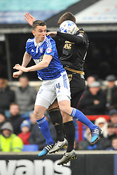 JONAS KNUDSEN IPSWICH TOWN, KEVIN FOLEY IPSWICH TOWN Ipswich Town v Nottingham Forest, Sky Bet Championship, Portman Road Stadium, Saturday 5th March 2016.