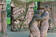 Memorial to the displaced, dispossessed, murdered. Berlin, Germany.