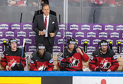 Jon Cooper, head coach of Canada during the 2017 IIHF Men's World Championship group B Ice hockey match between National Teams of Canada and Switzerland, on May 13, 2017 in AccorHotels Arena in Paris, France. Photo by Vid Ponikvar / Sportida