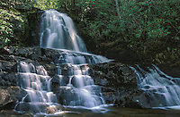 Laurel Falls at Great Smoky Mountains National Park, Tennessee
