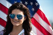 June 25 - 27, 2015: Lamborghini Super Trofeo Round 3-4, Watkins Glen NY. Lamborghini grid girl