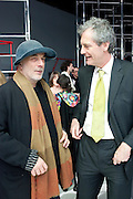 RON ARAD; MARK JONES, Yohji Yamamoto exhibition opening. V & A Museum. London. 10 March 2011. -DO NOT ARCHIVE-© Copyright Photograph by Dafydd Jones. 248 Clapham Rd. London SW9 0PZ. Tel 0207 820 0771. www.dafjones.com.
