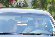 Queen Sofia of Spain, King Felipe VI of Spain attended the 80th birthday party of Princess Pilar at his house in Calvia on July 30, 2016 in Mallorca, Spain