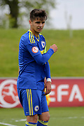 Ajdin Hasic of Bosnia and Herzegovina (10) during the UEFA European Under 17 Championship 2018 match between Bosnia and Republic of Ireland at Stadion Bilino Polje, Zenica, Bosnia and Herzegovina on 11 May 2018. Picture by Mick Haynes.