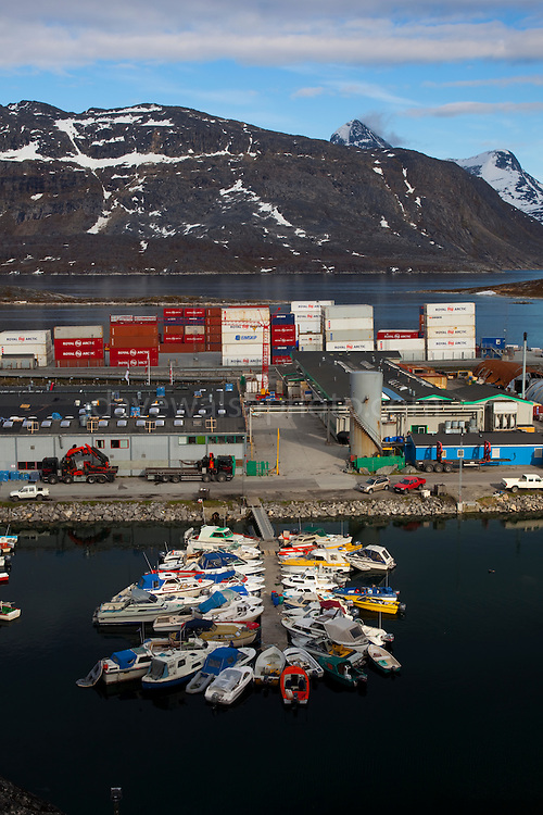 The Harbour, Nuuk, Greenland. Copyright 2009 Dave Walsh