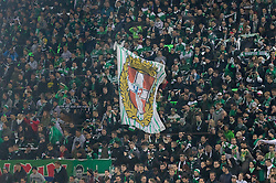20.10.2016, Weststadion, Wien, AUT, UEFA EL, SK Rapid Wien vs US Sassuolo Calcio, Gruppe F, im Bild Fans von Rapid // during a UEFA Europa League, group F game between SK Rapid Wien and US Sassuolo Calcio at the Weststadion, Vienna, Austria on 2016/10/20. EXPA Pictures © 2016, PhotoCredit: EXPA/ Sebastian Pucher