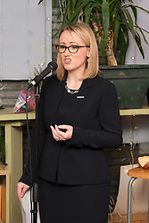 Labour Leadership Contest, 14 February 2020<br /> <br /> Labour Leadership candidate Rebecca Long-Bailey held an event in Glasgow tonight for supporters<br /> <br /> Pictured:  Rebecca Long-Bailey<br /> <br /> Alex Todd | Edinburgh Elite media