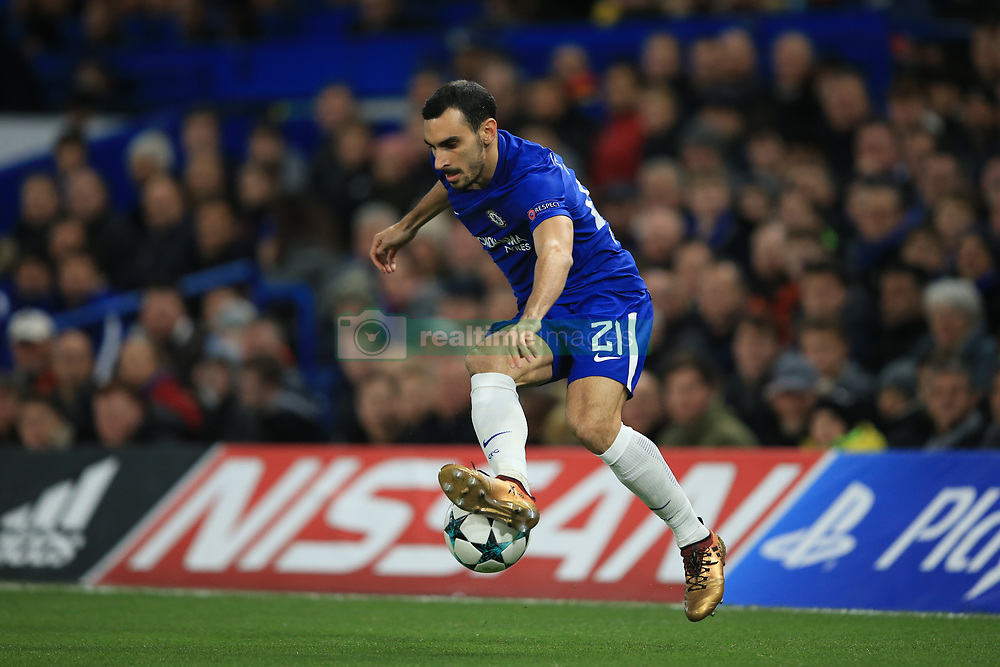 5 December 2017 -  UEFA Champions League (Group C) - Chelsea v Atletico Madrid - Davide Zappacosta of Chelsea - Photo: Marc Atkins/Offside