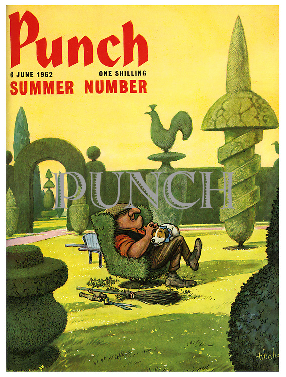 Punch Summer Number (Front cover, 6 June 1962)
