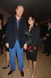 MURRAY PARTRIDGE and his wife SOLANGE AZAGURY-PARTRIDGE at a party to celebrate the launch of the Suka restaurant at the Sanderson Hotel, berners Street, London on 15th March 2007.<br /><br />NON EXCLUSIVE - WORLD RIGHTS