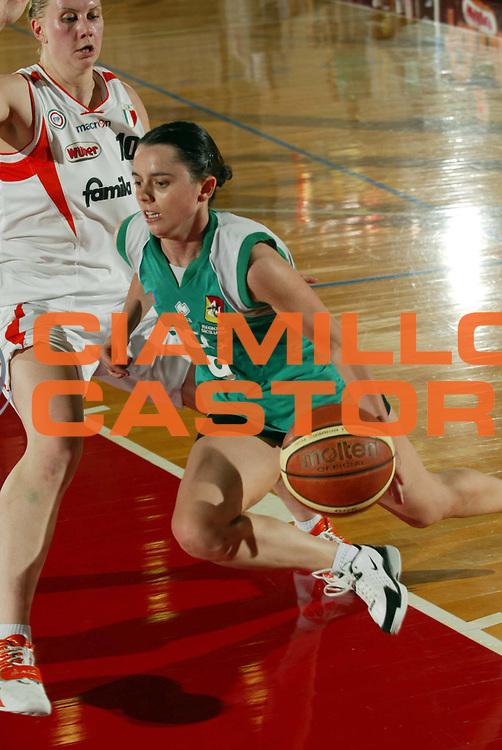 DESCRIZIONE : Schio Lega A1 Femminile 2005-06 Finale Scudetto Gara 5 Famila Schio Acer Priolo <br /> GIOCATORE : Gianolla <br /> SQUADRA : Acer Priolo <br /> EVENTO : Campionato Lega A1 Femminile Finale Scudetto Gara 5 2005-2006 <br /> GARA : Famila Schio Acer Priolo <br /> DATA : 17/05/2006 <br /> CATEGORIA : Penetrazione <br /> SPORT : Pallacanestro <br /> AUTORE : Agenzia Ciamillo-Castoria/M.Marchi
