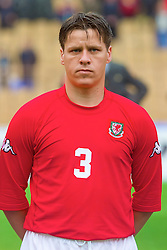 KIEV, UKRAINE - Wednesday, June 6, 2001: Wales' Darren Barnard before the FIFA World Cup Qualifying Group Five match against Ukraine at the Olimpiysky Stadium. (Pic by David Rawcliffe/Propaganda)
