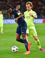 Blaise MATUIDI / Ivan RAKITIC - 15.04.2015 - Paris Saint Germain / Barcelone - 1/4Finale Aller Champions League<br />