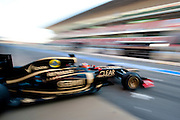 February 2012: Formula One Testing, Circuit de Catalunya, Barcelona, Spain, World Copyright: Jamey Price