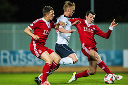 Falkirk's Craig Sibbald. Falkirk 0 v 5 Aberdeen, the third round of the Scottish League Cup.<br /> &copy;Michael Schofield.