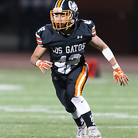 Los Gatos beat Palo Alto 31-8 in a SCVAL Football Game at Los Gatos High School(Courtesy of Bill Gerth)