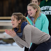 Taken at a skating clinic put on by members of Ice Dance International, at Strawbery Banke in Portsmouth, NH, Jan 2017