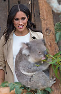 Meghan Markle & Harry Meet Koala Ruby