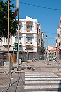 Historic building on Jerusalem Boulevard, Jaffa, Israel (built 1935)