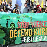 Stop Turkey, Defend Kurds #RiseUpRojava , London, UK
