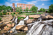 Reedy River Falls - Downtown Greenville, SC