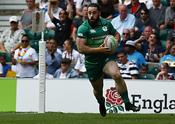 May 26, 2019 - London, England, United Kingdom - Mick McGrath  of Ireland .during The HSBC World Rugby Sevens Series 2019 London 7s Cup Quarter Final Match 32 between Fiji and Ireland at Twickenham on 26 May 2019. (Credit Image: © Action Foto Sport/NurPhoto via ZUMA Press)