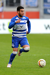 15.04.2016, Schauinsland Reisen Arena, Duisburg, GER, 2. FBL, MSV Duisburg vs TSV 1860 Muenchen, 30. Runde, im Bild Giorgi Chanturia (MSV Duisburg) // during the 2nd German Bundesliga 30th round match between MSV Duisburg and TSV 1860 Muenchen at the Schauinsland Reisen Arena in Duisburg, Germany on 2016/04/15. EXPA Pictures © 2016, PhotoCredit: EXPA/ Eibner-Pressefoto/ Thienel<br /> <br /> *****ATTENTION - OUT of GER*****