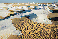 Sand Lying Across Mineral Deposits