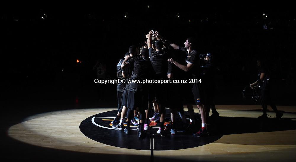 SkyCity Breakers v Adelaide 36ers. 2014/15 ANBL Basketball Season. Vector Arena, Auckland, New Zealand. Friday 17 October 2014. Photo: Andrew Cornaga / www.photosport.co.nz