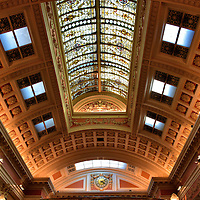 Bank Bar Ceiling in Dublin, Ireland <br />