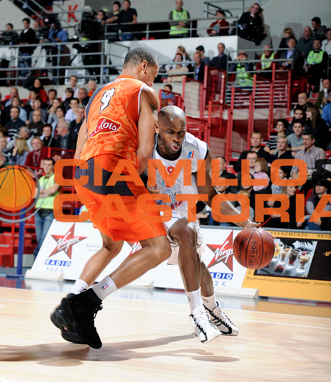 DESCRIZIONE : Championnat de France Basket Ligue Pro A  au Mans<br /> GIOCATORE : Mamoutou Diarra<br /> SQUADRA : Cholet<br /> EVENTO : Ligue Pro A  2010-2011<br /> GARA : Le Mans Cholet<br /> DATA : 13/11/2010<br /> CATEGORIA : Basketbal France Ligue Pro A<br /> SPORT : Basketball<br /> AUTORE : JF Molliere/Herve Petitbon par Agenzia Ciamillo-Castoria <br /> Galleria : France Basket 2010-2011 Action<br /> Fotonotizia : Championnat de France Basket Ligue Pro A au Mans<br /> Predefinita :