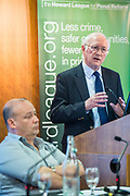 Dr Alan Billings <br /> Police and Crime Commissioner, South Yorkshire, speaking at the Howard League for Penal reform's Community Awards 2015 The Kings Fund, London, UK. All use must be credited © prisonimage.org