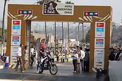 Slovenian Enduro Biker Miran Stanovnik competes during 35th rally Dakar - 2013 edition from Lima (Peru) towards Santiago (Chile), on January 5, 2013. (Photo by MaindruPhoto)
