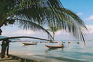 Koh Tao beach boat Thailand