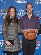 KATE Middleton & Prince William Attend NBA Match