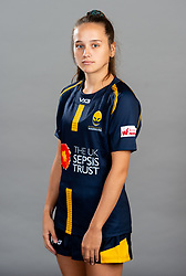Lowri Williams during the Worcester Warriors Women Media Day - Ryan Hiscott/JMP - 28/09/2019 - SPORT - Sixways Stadium - Worcester, England - Worcester Warriors Women Media Day