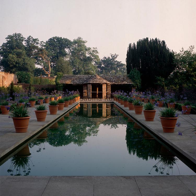 The Dutch Garden, Hampton Court, Herefordshire