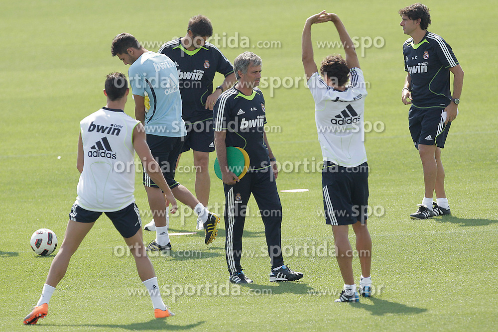 10.08.2010, Valdebebas, Madrid, ESP, Primera Division, Real Madrid Training, im Bild Jose Mourinho. EXPA Pictures © 2010, PhotoCredit: EXPA/ Alterphotos/ Cesar Cebolla +++++ ATTENTION - OUT OF SPAIN +++++. / SPORTIDA PHOTO AGENCY