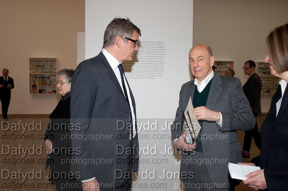 JAY JOPLING; ANTONY D'OFFAY, Damien Hirst, Tate Modern: dinner. 2 April 2012.