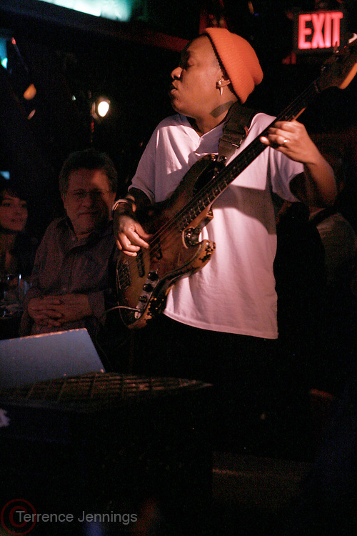 Michelle Ndegeocello at The Stephanie McKay performance, produced by Jill Newman Productions held at The Blue Note on March 24, 2008