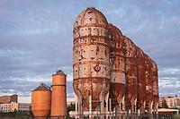 Paper mill structures, Waypoint Park, Bellingham, WA