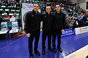 DESCRIZIONE : Eurolega Euroleague 2014/15 Gir.A Dinamo Banco di Sardegna Sassari - Real Madrid<br /> GIOCATORE : Rocha Piloidis Glisic<br /> CATEGORIA : Arbitro Referee<br /> SQUADRA : Arbitro Referee<br /> EVENTO : Eurolega Euroleague 2014/2015<br /> GARA : Dinamo Banco di Sardegna Sassari - Real Madrid<br /> DATA : 12/12/2014<br /> SPORT : Pallacanestro <br /> AUTORE : Agenzia Ciamillo-Castoria / Luigi Canu<br /> Galleria : Eurolega Euroleague 2014/2015<br /> Fotonotizia : Eurolega Euroleague 2014/15 Gir.A Dinamo Banco di Sardegna Sassari - Real Madrid<br /> Predefinita :