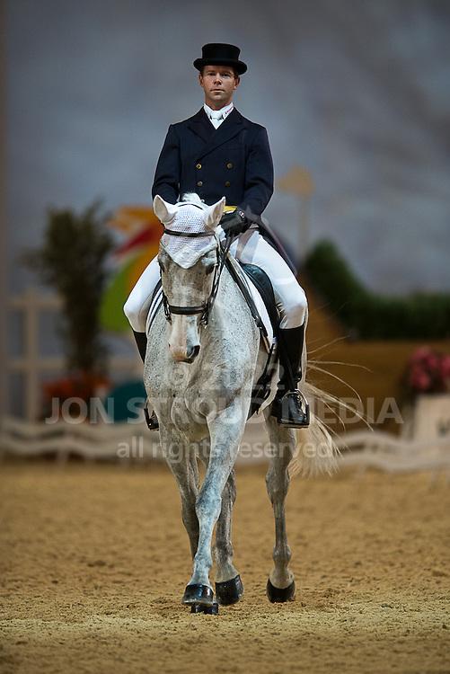 Kevin McNab (AUS) & Brookfield De Bouncer - Dressage - Express Eventing - Horse World Live - ExCel London - 17 November 2012
