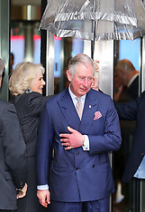 FEB 11 2014 The Prince of Wales and Duchess of Cornwall at the BBC