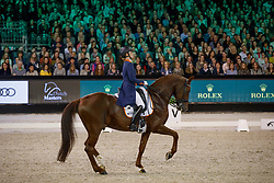 Witte-Vrees Madeleine, NED, Cennin<br /> The Dutch Masters<br /> Indoor Brabant - 's Hertogen bosch 2018<br /> © Hippo Foto - Dirk Caremans<br /> 10/03/2018