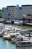 Europa, Deutschland, Koeln, die Gebaeude Pier 15, Hauptsitz der ifb AG im Rheinauhafen.<br /> <br /> Europe, Germany, Cologne, the buildings Pier 15, headquarter of the ifb AG at the Rheinau harbour.